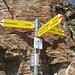 der Gipfelaufstieg ist hier nicht aufgeführt - es ist nicht der unmittelbar folgende Kamin, sondern erst der darauffolgende