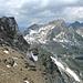 Links Piz d' Alp Val, rechts Piz Bleis Marscha