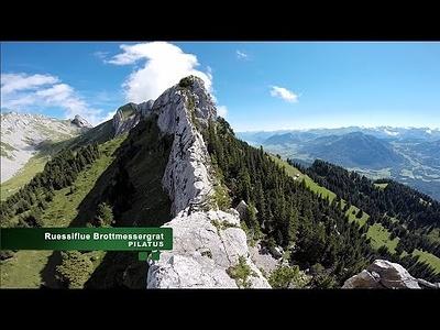 Videoübersicht vom Ruessifluegrat und Galtigentürme. Beides ideal für alpine Beginner.