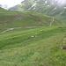 Bergweg oberhalb des Pass Tiarms. Rechts im Hintergrund die Oberalppasshöhe.<br />UPDATE: Genau hier soll im Zuge von Sawiris neuem Andermatt eine Bobbahn entstehen!