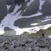 in der Geröllhalde auf ca. 2800m