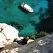 Scharf beobachtet von Yacht-Touristen. Viel Meer unter den Füssen – ohne geht's nicht!