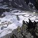 Tiefblick nach Osten ins Val Giuv