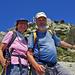 Zusammen auf dem Gipfel