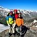 Happy family au sommet de la Luette