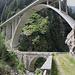 alte und neue Brücke beim Valle di Lei