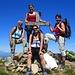 Alle Damen wohlbehalten auf dem Gipfel des Hohgant West.