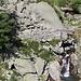 Brücke in der Cardinello-Schlucht, das ist wieder der Weg zur Alp Crotto