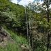 Il sentiero all'inizio della Val Gabbio