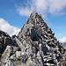 La cresta che porta alla cima principale del Witenwasserenstock