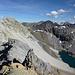 Auf dem Grat zum Piz Son Jon - Rückblick auf die schon bestiegenen Gipfel