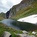 Der Lago di Taneda superiore - lädt nicht gerade zum Bade.