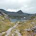 Basso del Lago Scuro. Hier ist mit nennenswerter Vegetation langsam Schluss.