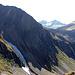 Durch dieses Tal kommt man auf den Passo Bornengo. Von der Hütte runter ins Tal, dann wieder rauf.