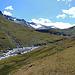 Blick zurück im Val Maighels zeigt den Maighels-Gletscher, dem ich auch nicht mehr lange gebe.