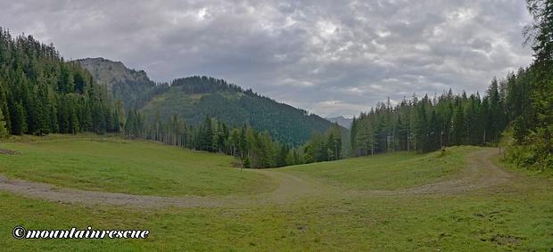 Die schöne Hochfläche des Scheideck 1215m