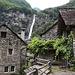 Foroglio mit Wasserfall