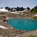 Wildsee und Pizol (mit Gletscher) von Wildseeluggen aus gesehen