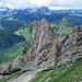 Im Abstieg vom Twäriberg: mein erklettertes Spitzli