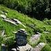 Ometto nel tratto tra la scala di Ragozzale e il sentiero per Cortevecchio.