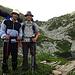Zwei Brüder am Laghetto d'Orgnana. Das machen wir irgendwann nochmal! Mit Zelt!