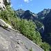 Himmelsleiter ins Ungewisse...darüber Cúpol, links Valle di Foioi mit Terasc, Cresta del Piatto und Rosso
