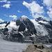 Blick vom Grand Tavé (3158 m) nach Südwesten