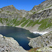 knapp oberhalb des Lago Nero schwenkt man nach links ab