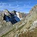 im Anstieg auf dem Ostrücken bin ich wieder auf der Höhe des Höckers angekommen (man kann ihn rechts oberhalb des Passes erahnen)