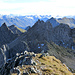 Ausblick nach Norden zu den Gipfeln des Pizzo Gararesc