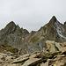 die Gipfel des Pizzo Gararesc von der anderen Seite