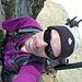 Der Felsgrat hinunter zum Col de Lire Rose wird nie langweilig