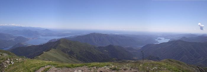 I miei Laghi visti dal Monte Massone 2161