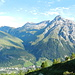 Wisshorn und Teurihorn vom Aufstieg zu den Surettaseen