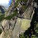 ein in den Felsen gelegter Abschnitt der Oberschta (außer Betrieb)