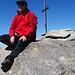 rotes Gipfelglück und Zeit zum Genießen