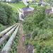 Wasserkraftwerk Amsteg, das Ende der Tour ist in Reichweite.