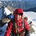 Na ja, die Gipfelfreude war auch schon grösser :-) Die Kälte hinterlässt Spuren...