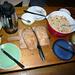 Seetalhütte - das Frühstück mit selbstgebackenem Brot und Birchermüesli