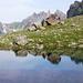 Unghürboden - Seelein mit Blick zur Österreicher Grenze