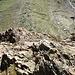 Kletterei beim ersten Aufschwung