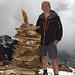 Mein Gspändli auf dem Gipfel. Kompliment, das war eine riesen Leistung!