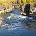 Spaziergang zum Torneträsk. Schlucht des Abiskojåkka.<br />Vandring till Torneträsk. Canyon Abiskojåkka.