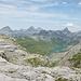 Aussicht vom Mären P. 2304 auf die Glattalp