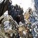 """""""live"""" aus der Kletterei - genügend Zacken um sich mit dem Seil zu sichern"""