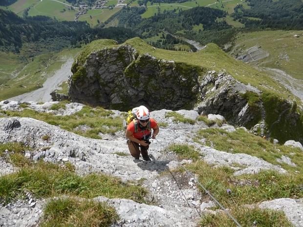 Klettersteig Tälli : Alpligerstock 2066m u2013 tourenberichte und fotos [hikr.org]