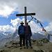 ... und mit den Bergsteigern