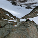 """der """"Klettersteig"""" hinab vom Mitterkarjoch"""