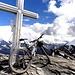 Auch der zweite Gipfel ist erreicht: das Üssere Barrhorn