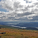 Wolken über dem Tjaktjajaure